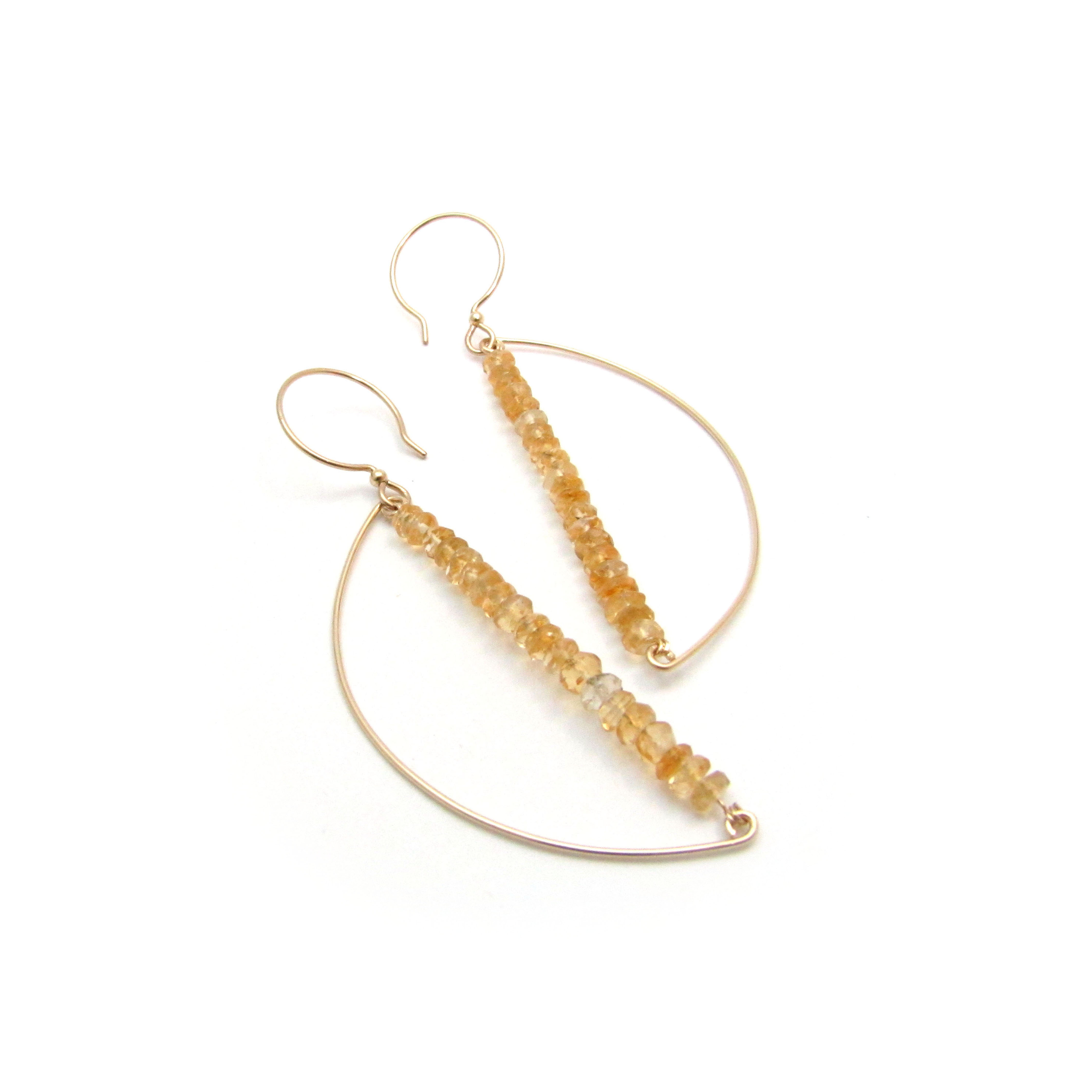 Wire Work Earrings Example