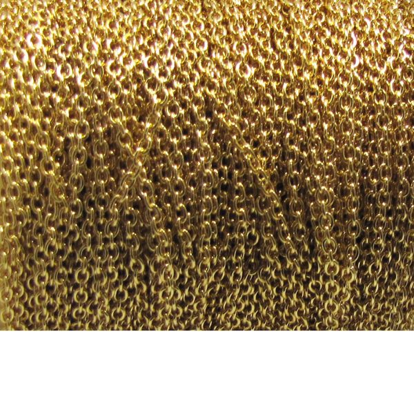 oval chain 1617 Base Metal Gold plated