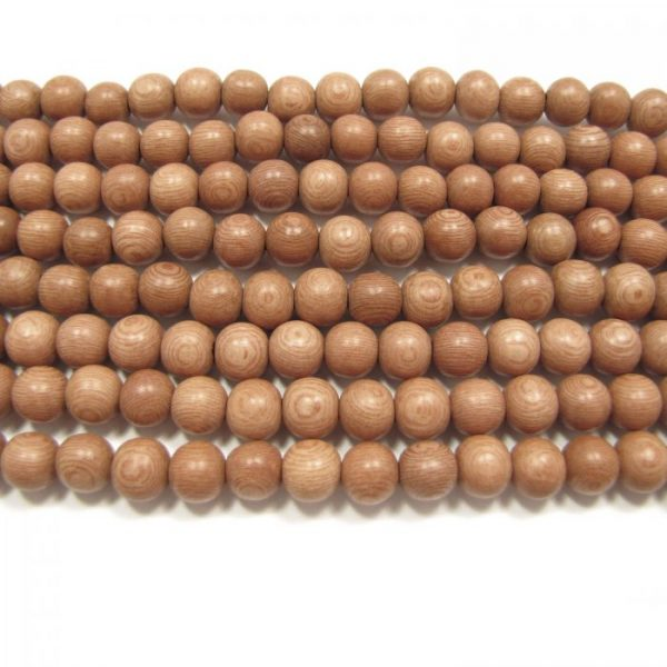 natural rosewood round strands
