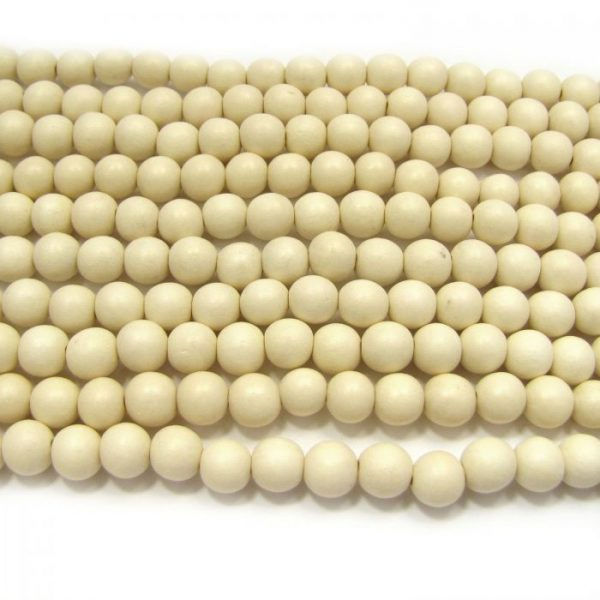 natural white wood rounds