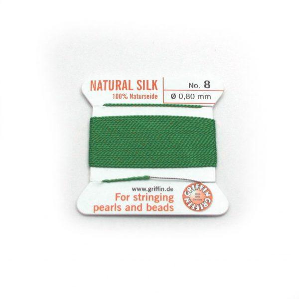 silk cord green