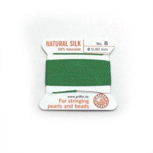 green silk cord