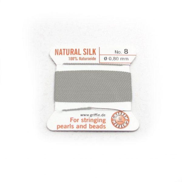 silk cord grey