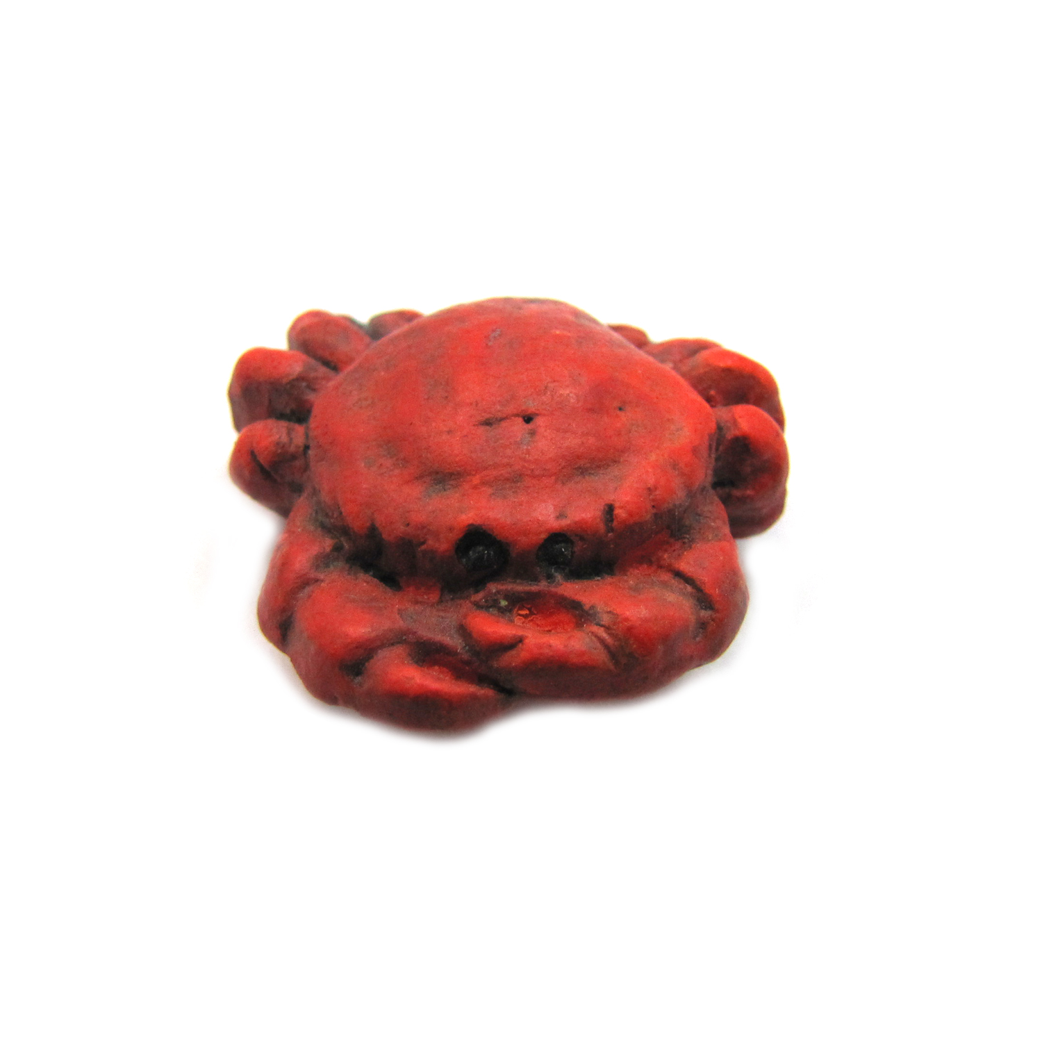 Ceramic Bead Large Crab front view