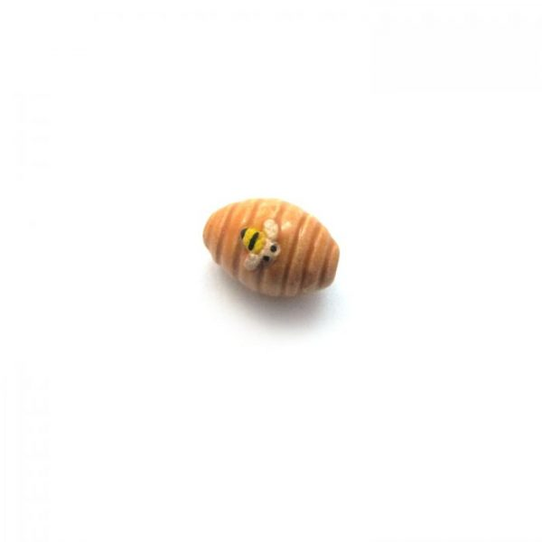 beehive ceramic beads large and small