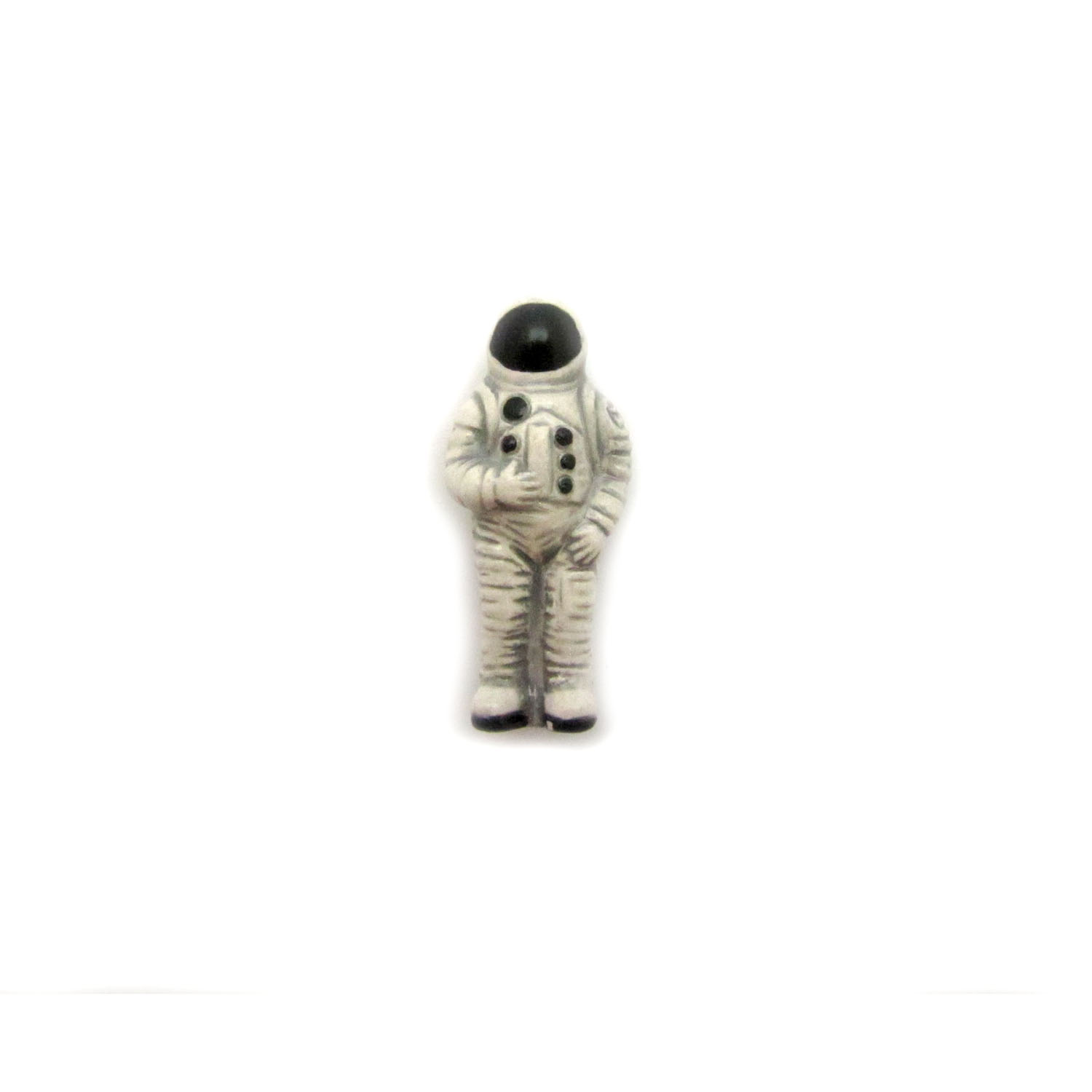 Astronaut ceramic beads large and small