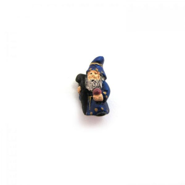 ceramic animal beads large and small - wizard