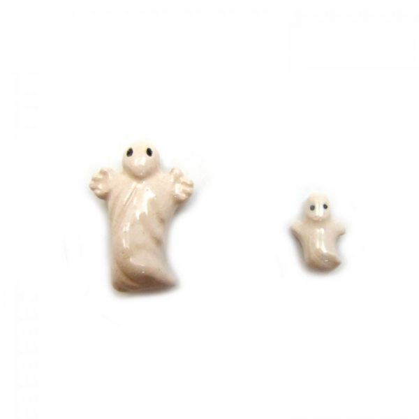 ghost large and small ceramic beads