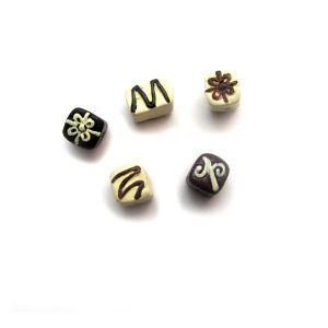 Chocolates ceramic beads large and small