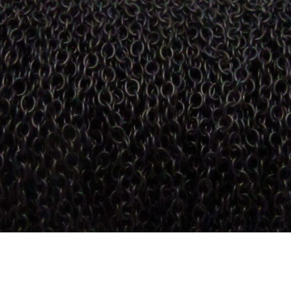 Oval chain chain 1813 matte black spool