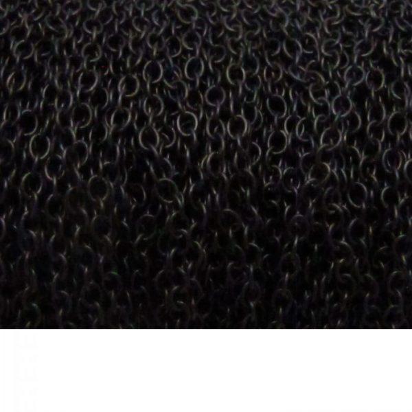 Oval chain chain 1813 matte black