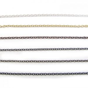 cable chain base metal all finishes 2214X