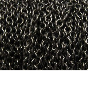cable chain base metal gunmetal 2911X