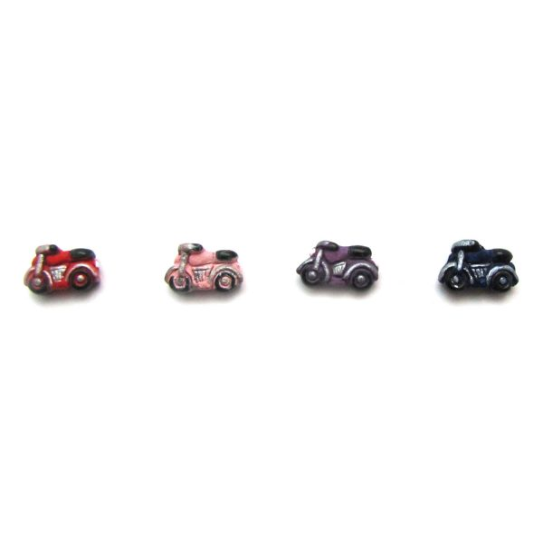 ceramic animal beads large and small – Motorcycle al2l