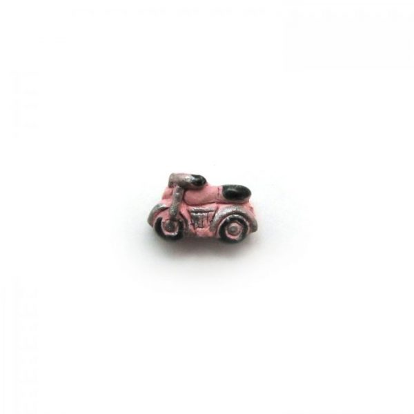 ceramic animal beads large and small - Motorcycle