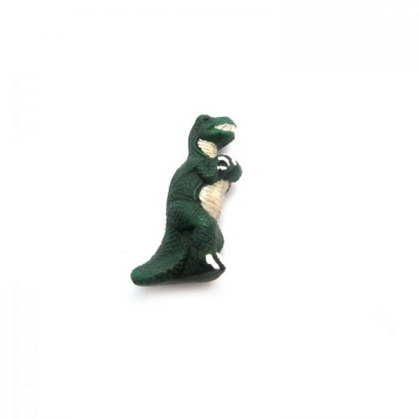 ceramic animal beads large and small - T- Rex