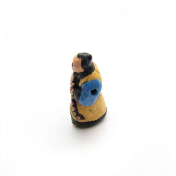 ceramic animal beads large and small - samurai