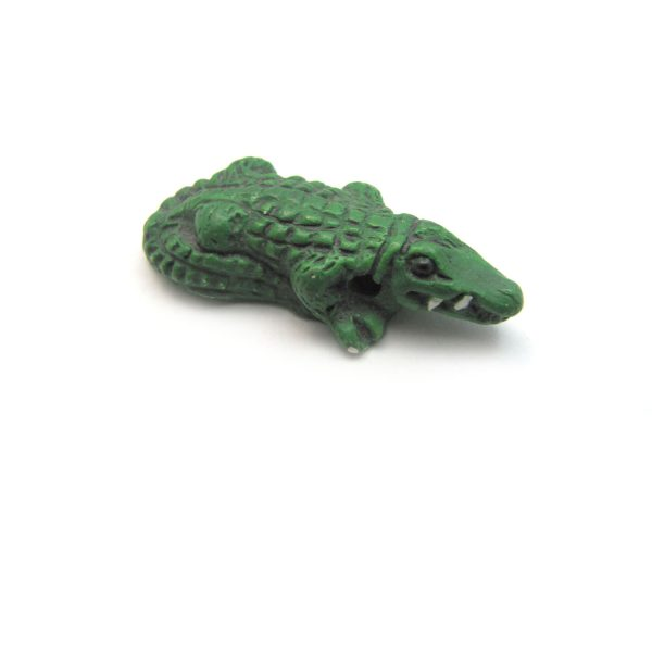 ceramic beads large and small Aligator side