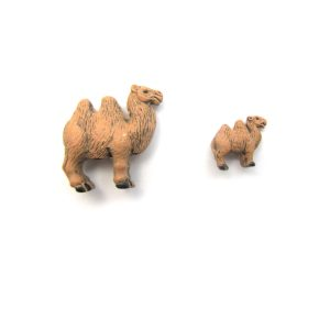 camel ceramic beads large and small