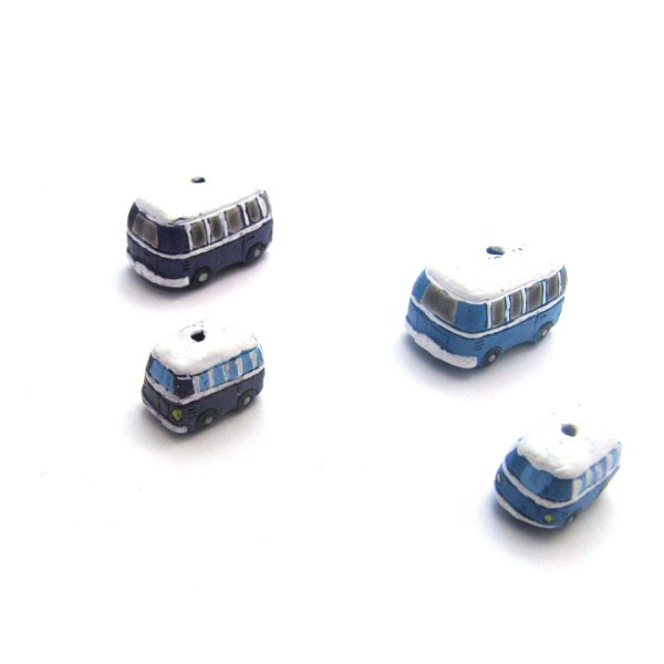 ceramic animal beads large and small – VW Bus2