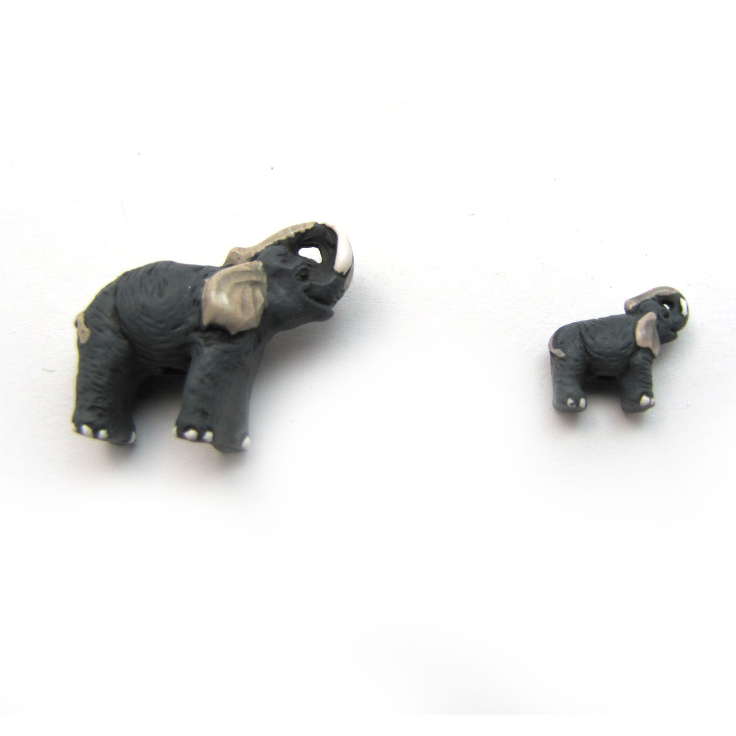 elephant ceramic beads large and small