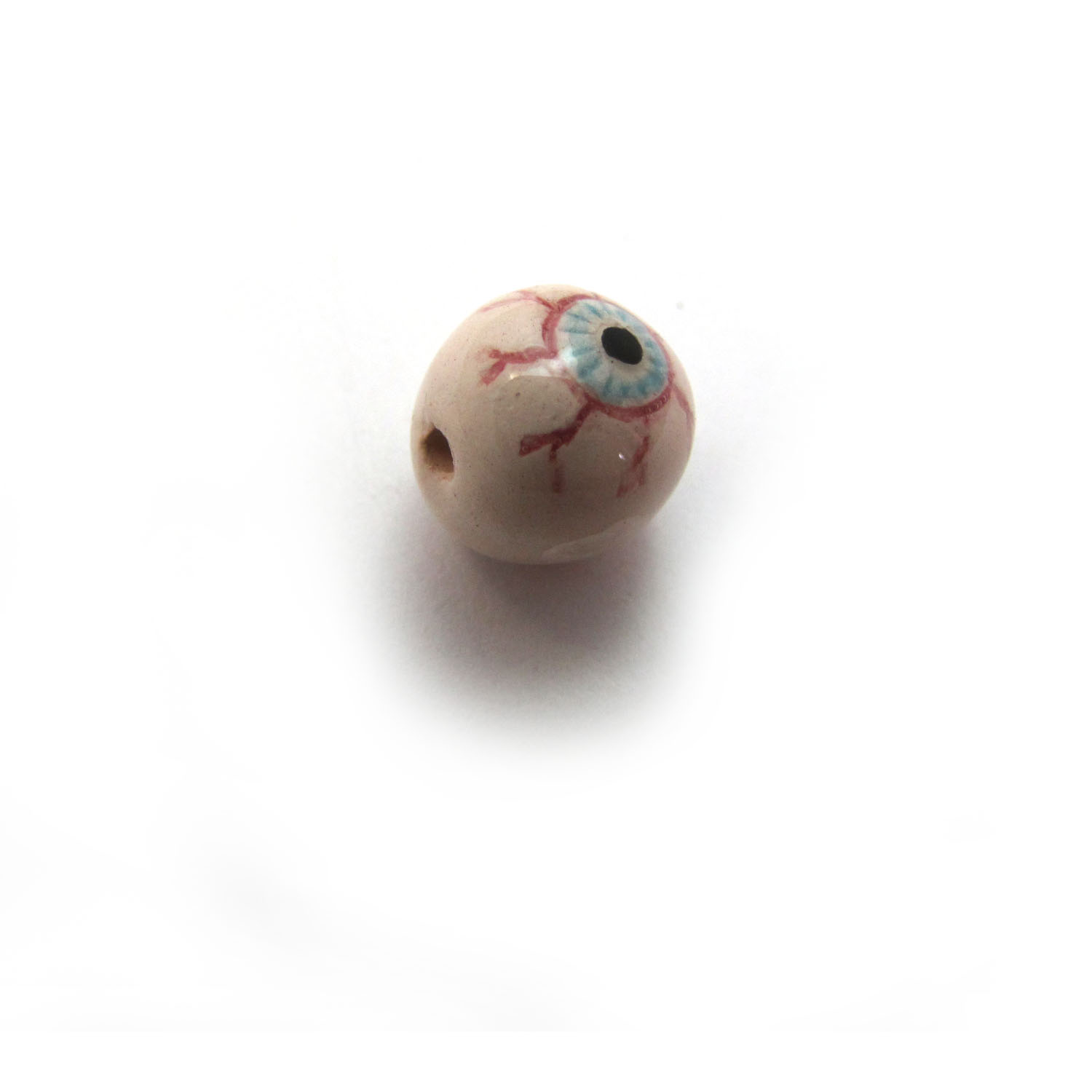 eyeball ceramic beads large and small