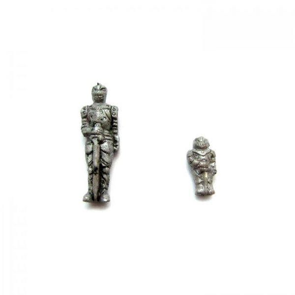 knight large and small ceramic beads