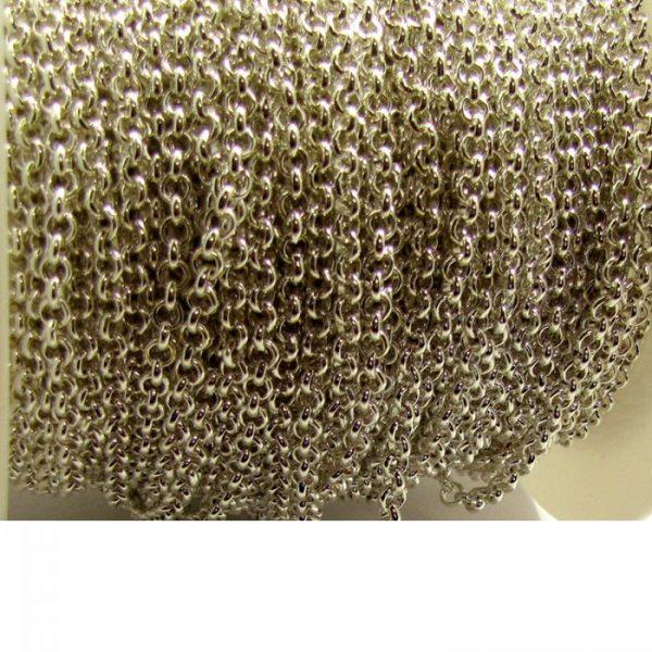 rolo chain 15XB base metal - antique gold length