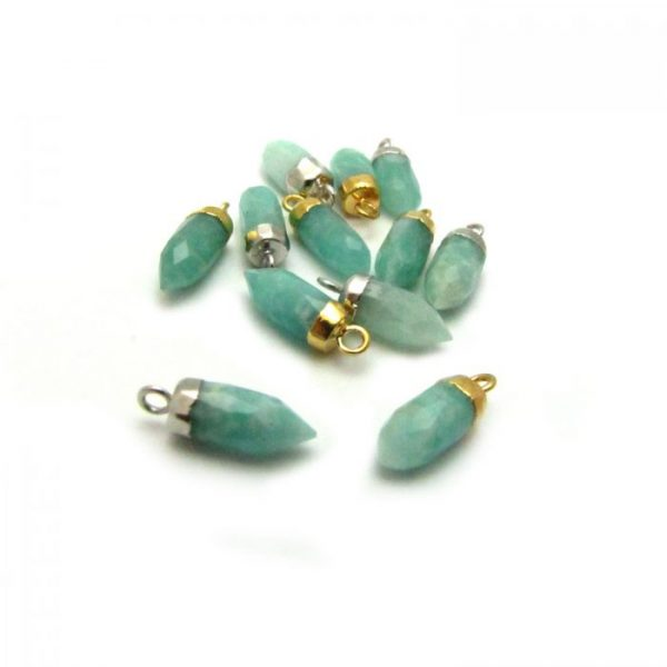 Amazonite - Stone point with loop group mixed