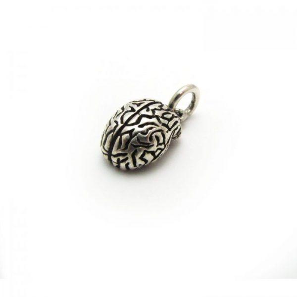 Brain base metal silver plated