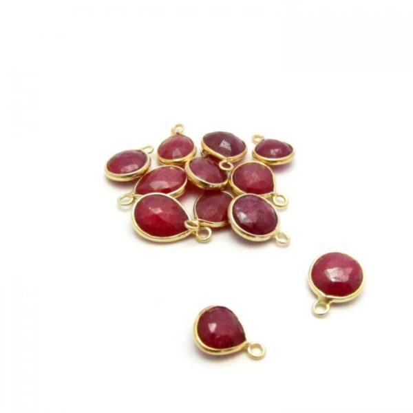 Gold Edged Ruby