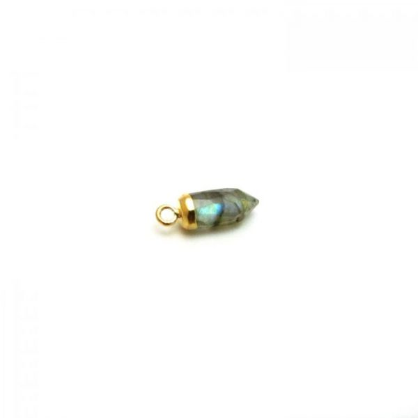 Labradorite - Stone point with loop