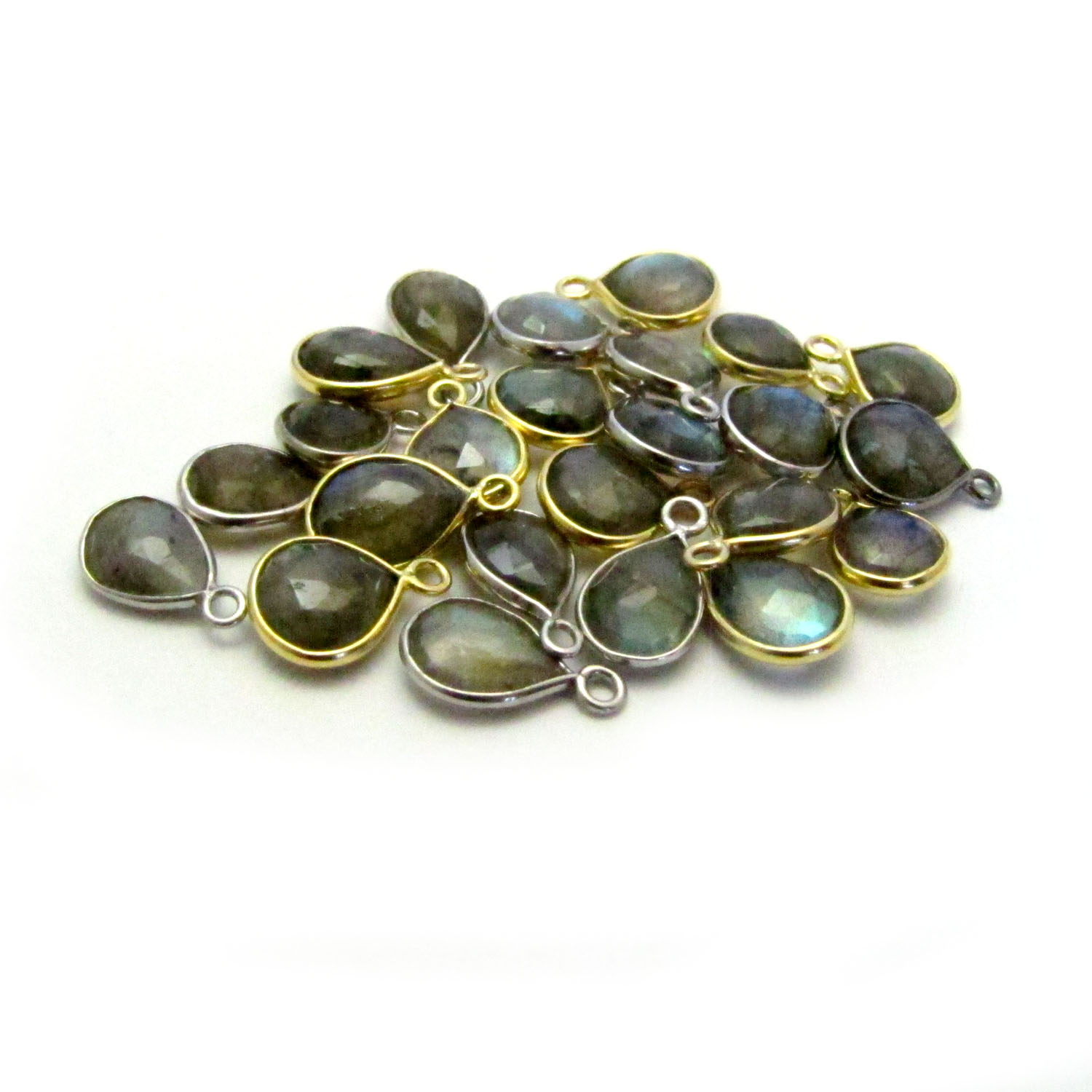 Labradorite Gold & Silver Mixed