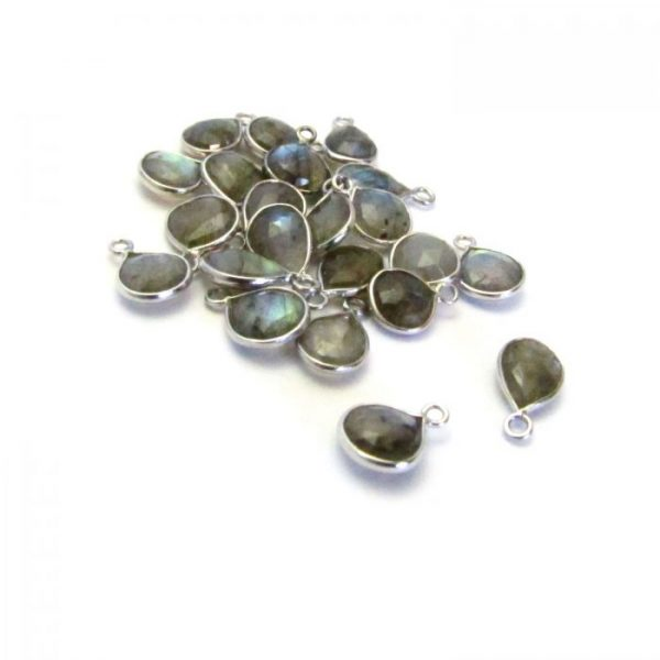 Labradorite Silver Edged group