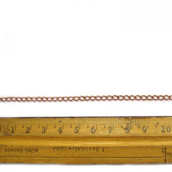 base meatal chain cc ir110 copper ruler