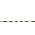 curb chain ch 6 antique copper length