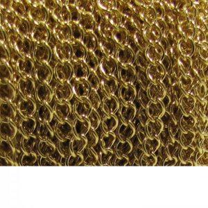 curb chain ch 6 gold plated spool