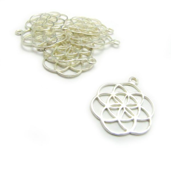 seed of life charm silver cover shot