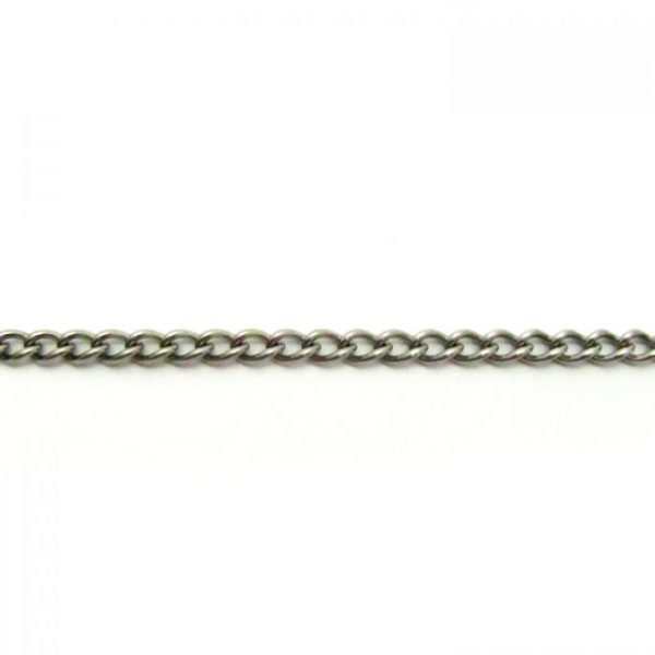 Curb Chain 505XC Stainless Steel length