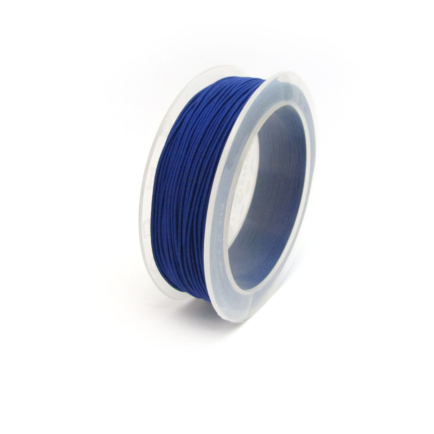 material covered elastic 1mm Blue