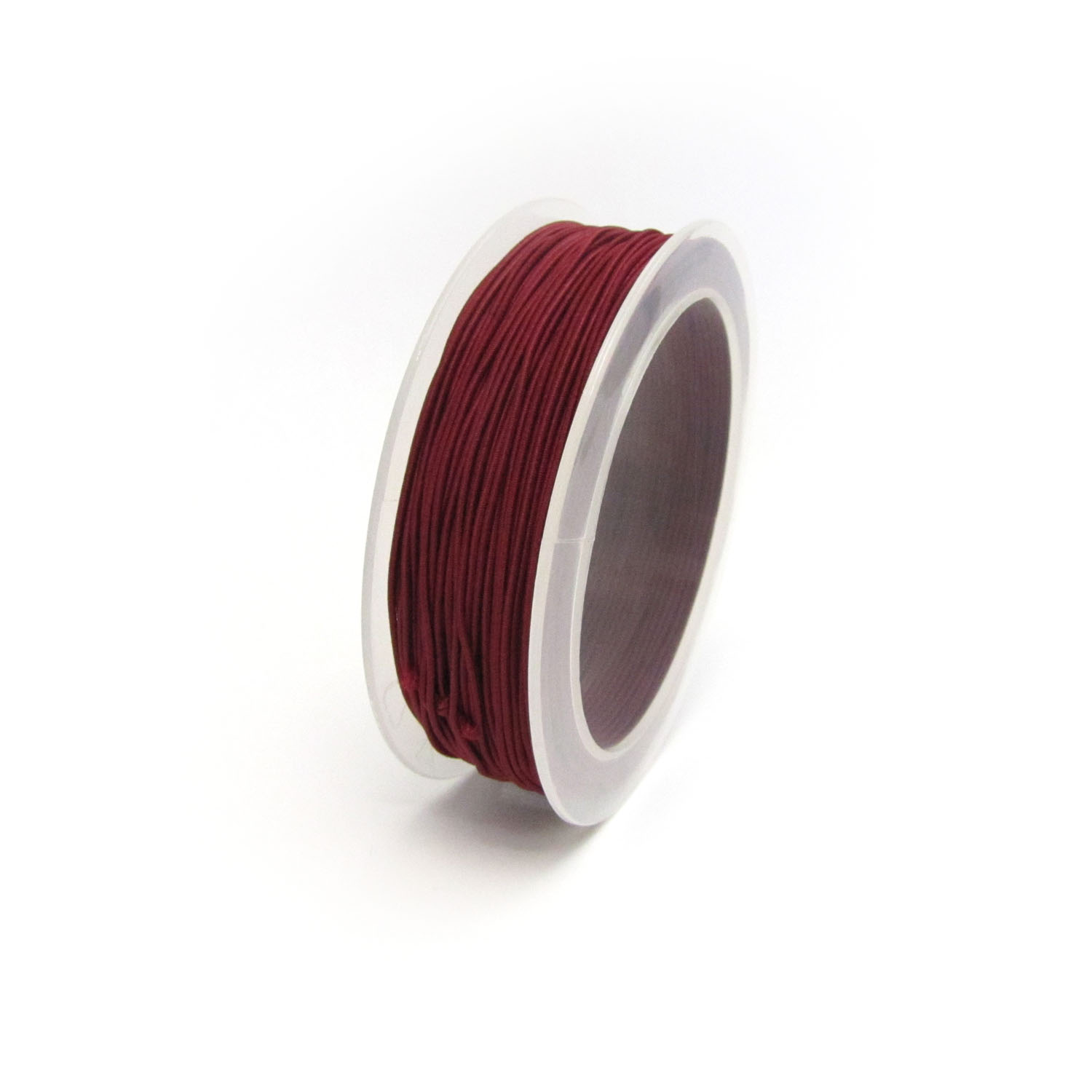 material covered elastic 1mm Maroon