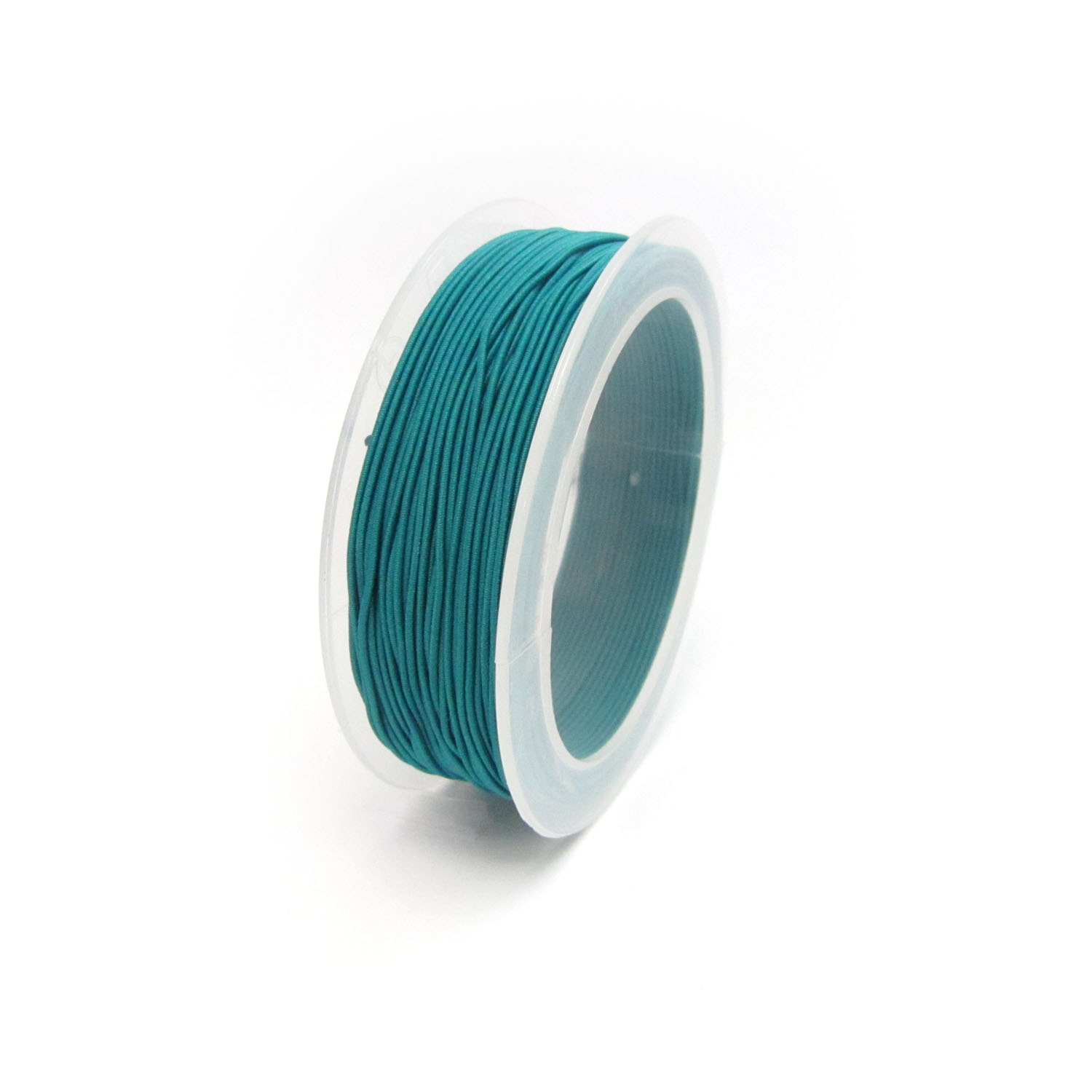 cmaterial covered elastic 1mmTeal