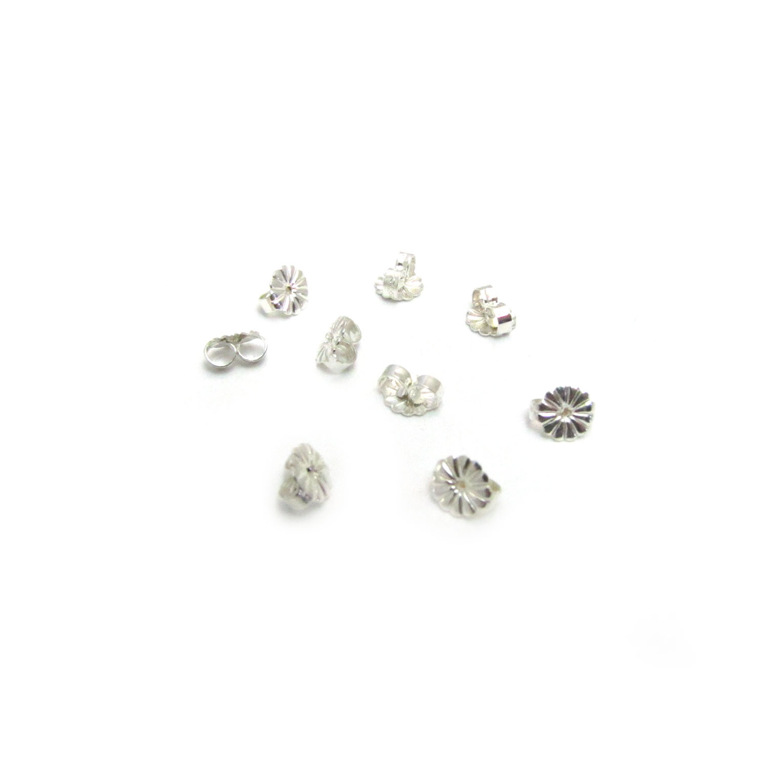 Butterfly Earring Backs Sterling Silver Country Beads