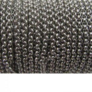 stainless steel rolo chain
