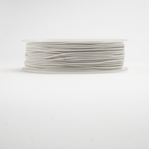 white material covered elastic