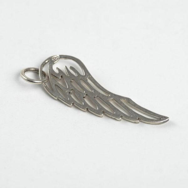 Wing Charm - Sterling Silver
