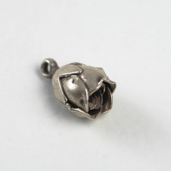 Flower Blossom Charm - Sterling Silver