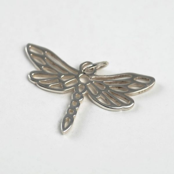 Dragonfly Charm - Sterling Silver