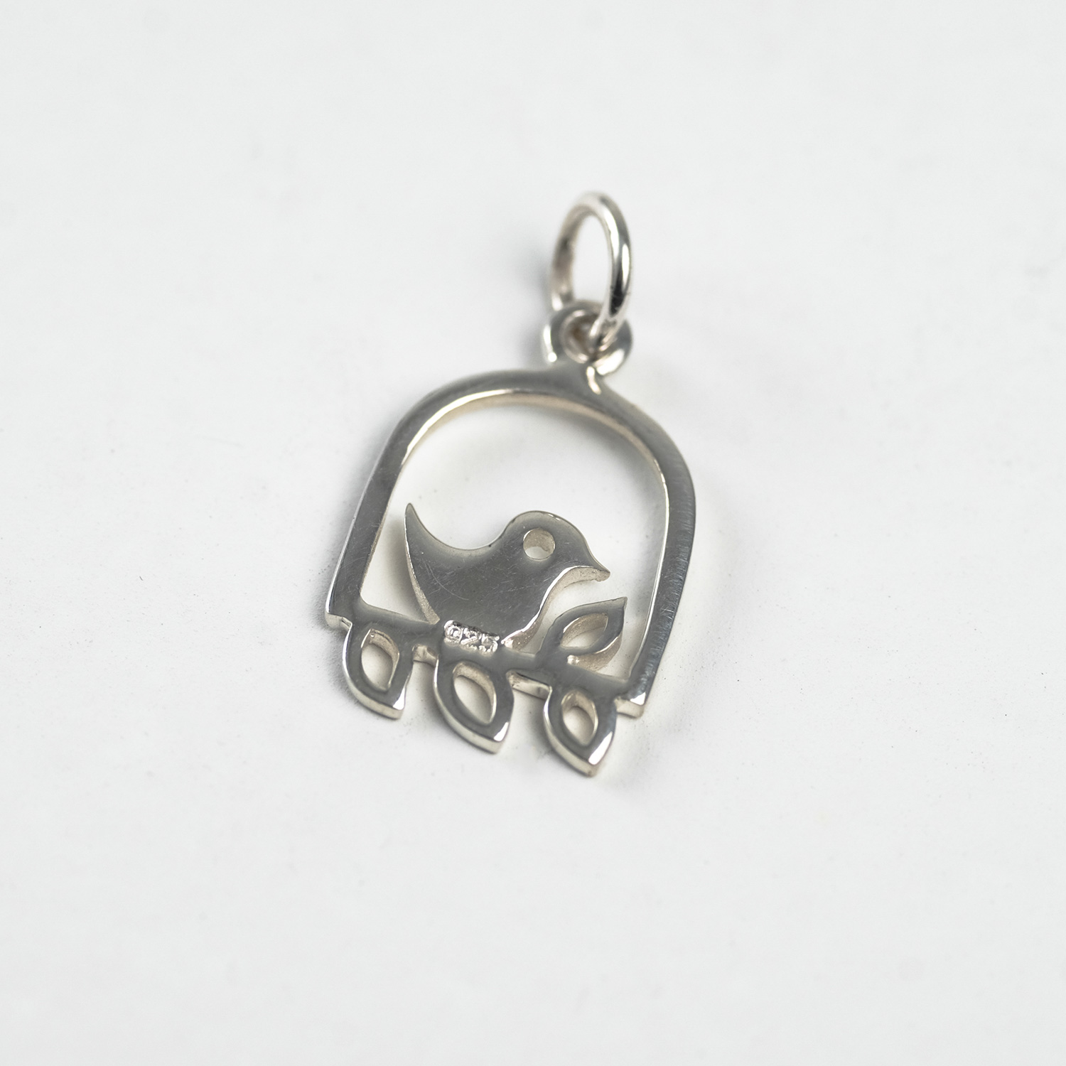 Bird Cage - Sterling Silver