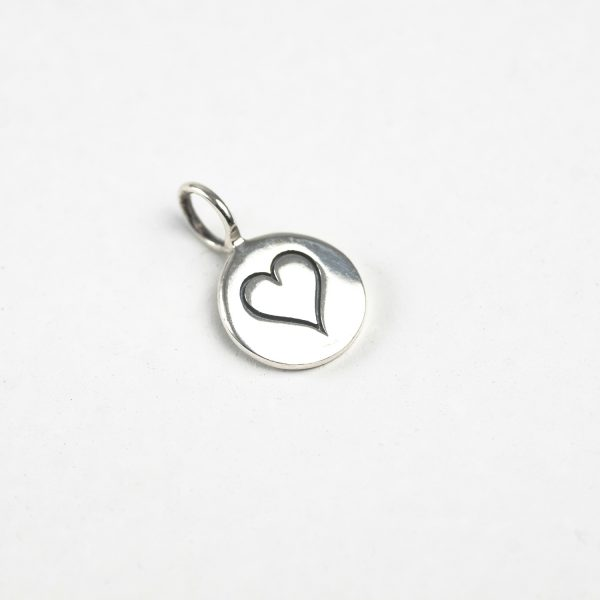 55 Heart Tag (Small, Round)